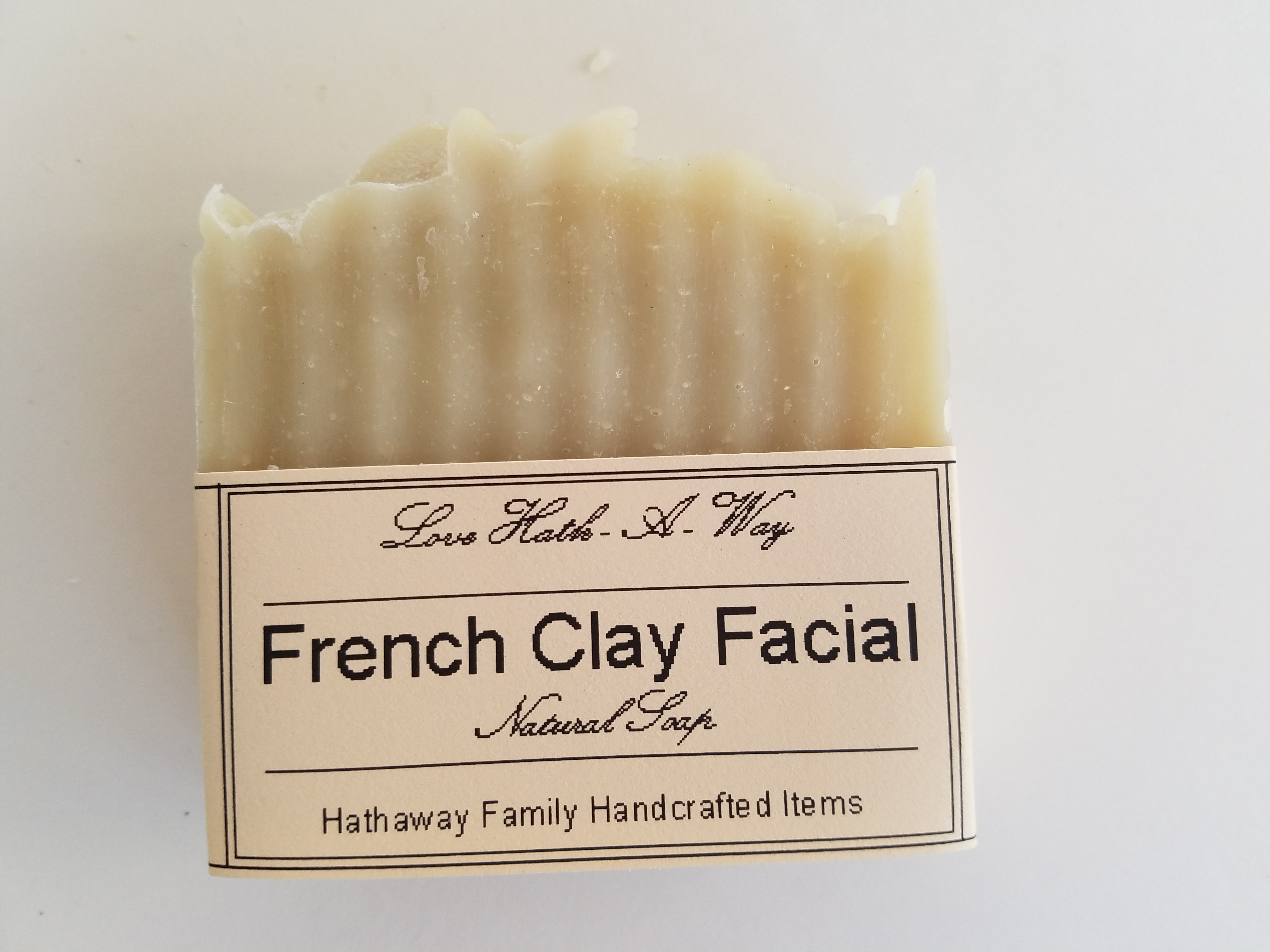 French Clay Facial Soap