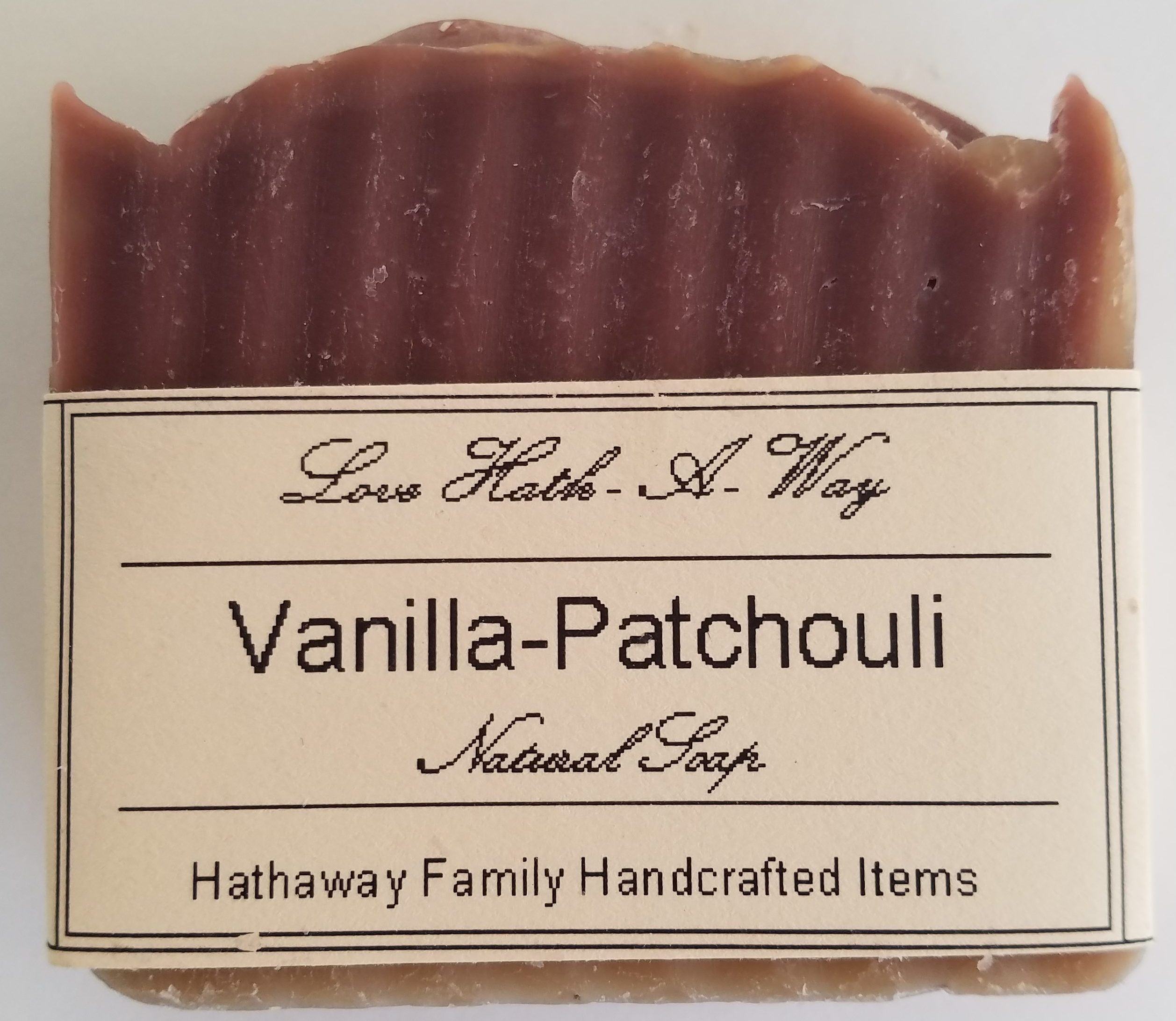 Vanilla-Patchouli Soap